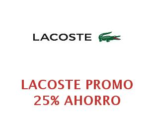 Cupom lacoste